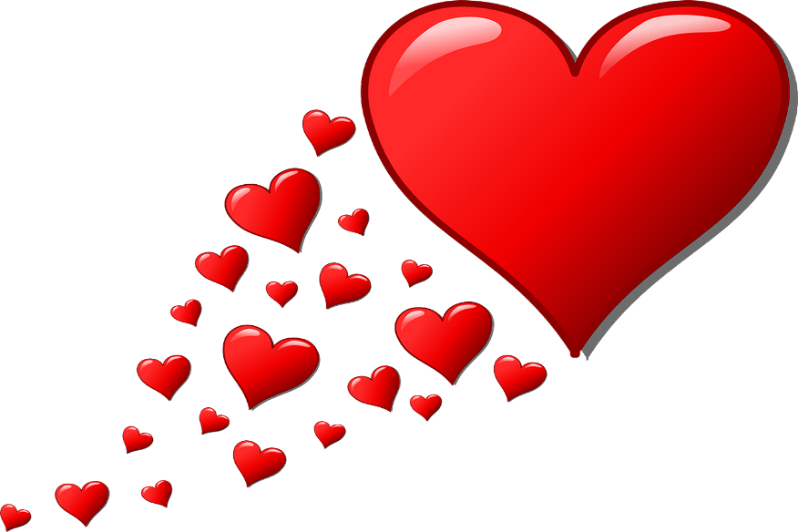 Fond d'écran cœurs