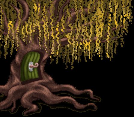 Saule Pleureur Forêt Enchantée