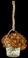 Suspension Fleurie Jardin