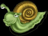 Escargot peluche
