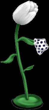 Porte-manteau tulipe
