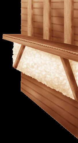 Mur Intérieur Chalet