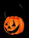 Panier Citrouille Halloween