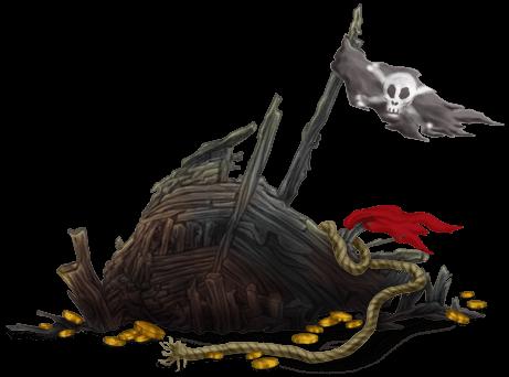 Carcasse Bateau Fantôme