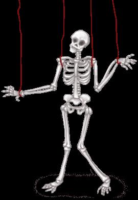 Squelette Laboratoire Sombre