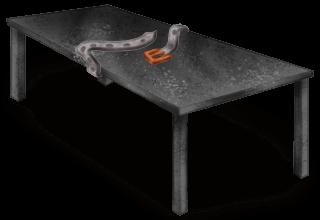 Table de Torture Laboratoire Sombre
