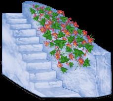 Grèce Bloc Escalier