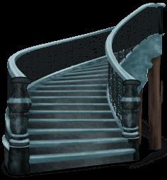 Escalier Château Ténébreux