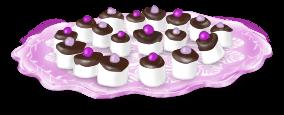 Plat gâteaux