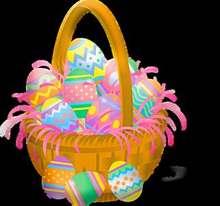 Panier Oeuf de Pâques