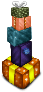 Pile de Cadeaux