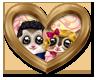 Cadre Coeur Réception Mariage