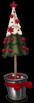 Sapin Marché de Noël