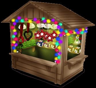 Cabane Marché de Noël