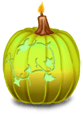 Grande Bougie Halloween