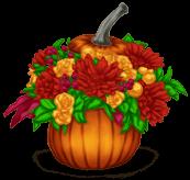 Pot de Fleurs Halloween