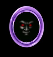 Miroir Visage Vampire