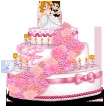 Gâteau Géant Mariage