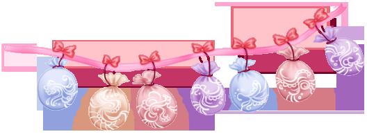 Guirlande Ballons Gâteau Mariage