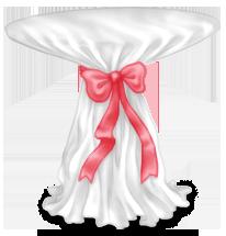 Table Haute Gâteau Mariage