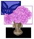 Vase de Roses Piste de Danse