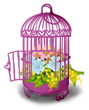 Cage oiseau Voiture des Mariés