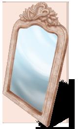 Miroir Voiture des Mariés