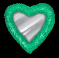 Mirroir Coeur Miss