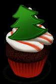 Cupcake Noël