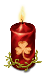 Bougie Avent Noël 2014