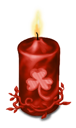 Bougie Avent Noël