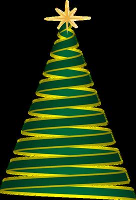 Sapin de Noël moderne