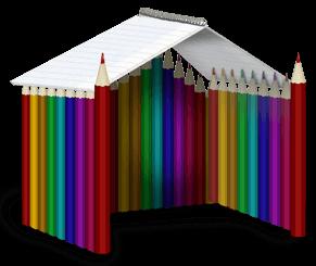 Cabane crayon