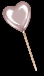 Sucette coeur Choco