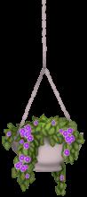Pot de fleur suspendu
