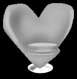 Fauteuil Coeur