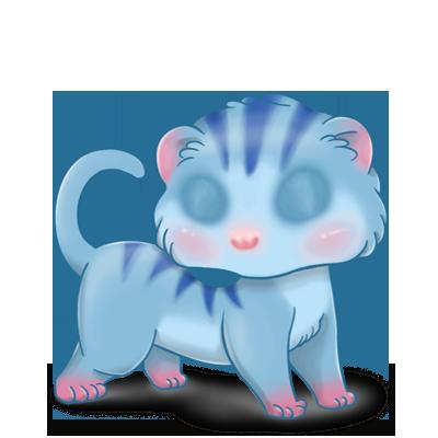 Adopte un(e) Furet Tigrette