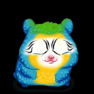 Hamster Ara Bleu
