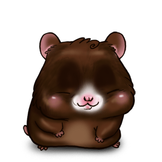Hamster Chocolat