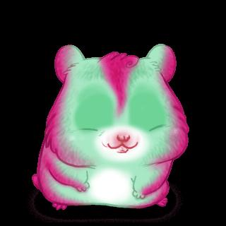Hamster Foustache