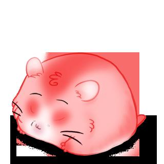 Adopte un(e) Hamster Rose Malice