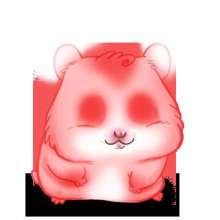 Hamster Rose Malice