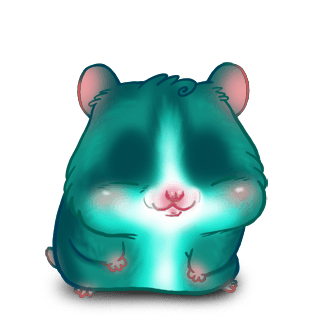 Hamster Turquoise