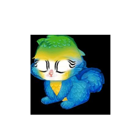 Adopte un(e) Lapin Ara Bleu