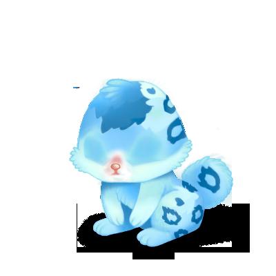 Adopte un(e) Lapin Bleu léopard