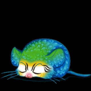 Adopte un(e) Souris Ara Bleu