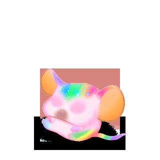 Adopte un(e) Souris Rainbow