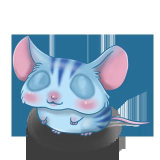 Adopte un(e) Souris Tigrette
