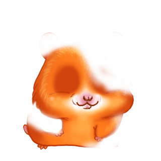 Adopte un(e) Hamster Paillettes dorée