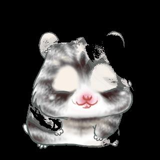 Adopte un(e) Hamster Beige et Noir